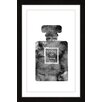 """Marmont Hill """"Coco Noir"""" by Amanda Greenwood Framed Graphic Art"""