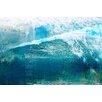 Parvez Taj 'White Splashing Surf' Art Print Wrapped on Canvas