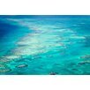 """Marmont Hill """"Ocean Rocks"""" Photographic Print Wrapped on Canvas"""