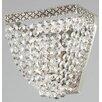 Maytoni Chandeliers Diamant Crystal Quadrato 1 Light Wall Light