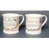 Just Mugs Devon 6 Piece Pretty Greetings Mug Set