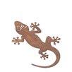 Old Basket Supply Ltd Rusty Gecko Garden Art