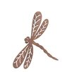 Old Basket Supply Ltd Rusty Dragonfly in Flight Garden Art
