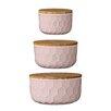 Mint Pantry Bergamot 3 Piece Ceramic Mixing Bowl Set