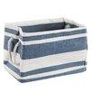 House Additions New England Medium Rectangle Bag Fabric Basket