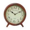 American Mercantile Table Clock