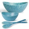 Architec Ecosmart Recycled Polypaper 4 Piece Serving Bowl Set