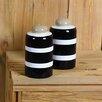 Coton Colors 2 Piece Salt and Pepper Shaker Set
