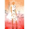 Marmont Hill 'Florens' by Lovisa Oliv Painting Print on Wrapped Canvas