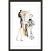 Marmont Hill 'Clothes Rack' by Claire Thompson Framed Painting Print