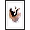 Marmont Hill 'Floating Dress' by Claire Thompson Framed Painting Print
