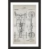 Marmont Hill 'Automobile 1919 Old Paper' by Steve King Framed Graphic Art