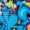 PPS. Imaging GmbH Colours of Graffiti 190cm L x 288cm W Roll Wallpaper