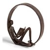 Darby Home Co Encircled Reader Iron Sculpture