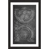 Marmont Hill 'Gears 1912 Chalk' by Steve King Framed Graphic Art