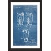 Marmont Hill 'Boxing Gloves 1923 Blueprint' by Steve King Framed Graphic Art