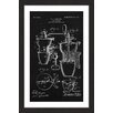 Marmont Hill 'Coffee Mill 1905 Black Paper' by Steve King Framed Graphic Art