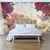 Artgeist Vintage Flowers 2.45m x 350cm Wallpaper