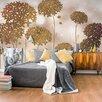 Artgeist Golden Garden 2.8m x 400cm Wallpaper