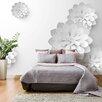 Artgeist White Garden 2.1m x 300cm Wallpaper