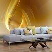 Artgeist Gold Fractal Background 3.09m x 400cm Wallpaper
