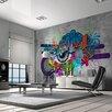 Artgeist Graffiti Eye 2.8m x 400cm Wallpaper