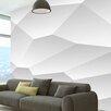 Artgeist White Geometry 280cm x 400cm Wallpaper