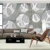 Artgeist Woven of Greys 245cm x 350cm Wallpaper