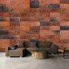 Artgeist Ziegel Puzzles 2.45m x 350cm Wallpaper