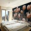 Artgeist Ladies Amongst the Flowers 1.54m x 200cm Wallpaper