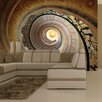 Artgeist Decorative Spiral Stairs 2.31m x 300cm Wallpaper