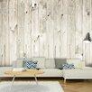 Artgeist Simple Wooden Fence 2.31m x 300cm Wallpaper
