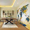 Artgeist Map of the World - Sun and Sky 2.7m x 350cm Wallpaper