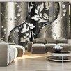 Artgeist Diamond Leaves 2.45m x 350cm Wallpaper