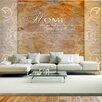 Artgeist Home, Where You Treat Your Friends Like Family... 2.1m x 300cm Wallpaper