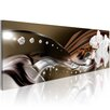 Artgeist Orchid Trail Graphic Art Print on Canvas