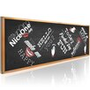 Artgeist Funny Blackboard Graphic Art Print on Canvas