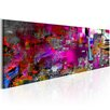 Artgeist Purple Orangery Graphic Art Print on Canvas