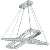 Searchlight Clover 1-Light LED Crystal Pendant