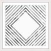 Marmont Hill Gerahmter Grafikdruck Square in Depth