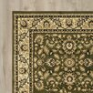 Three Posts Laidman Green Area Rug