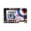 Oliver Gal 'Abbey Road' Typography  on Wrapped Canvas
