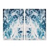Oliver Gal 'Mykonos Water III' 2 Piece Photographic Print on Wrapped Canvas Set