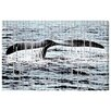 Oliver Gal 'The Whale' Graphic Art on Wrapped Canvas
