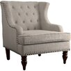 Vinita Wingback Chair Amp Reviews Allmodern