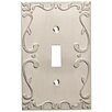 Franklin Brass Classic Lace Single Switch Wall Plate