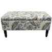 House Additions Flowers Storage Ottoman