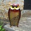 Castleton Home Animal Standing Rustic Owl Statue
