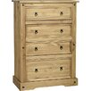Andover Mills Corona 4 Drawer Chest of Drawers