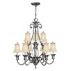 Hinkley Plantation 10 Light Mini Chandelier